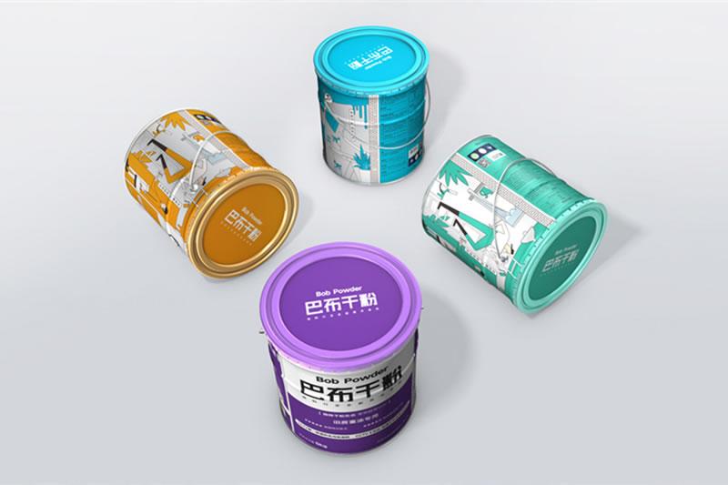 【昆明工业产品包装设计】 墙面涂料包装