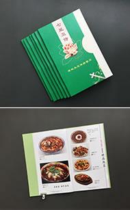 生态餐厅菜谱排版制作-菜谱菜单设计制作