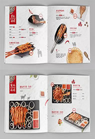 【餐饮店菜单设计】昆明菜谱设计公司的专业设