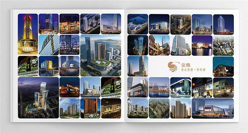商业广场楼书设计-房地产企业招商投资宣传画册