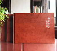 领导工作纪念册设计制作