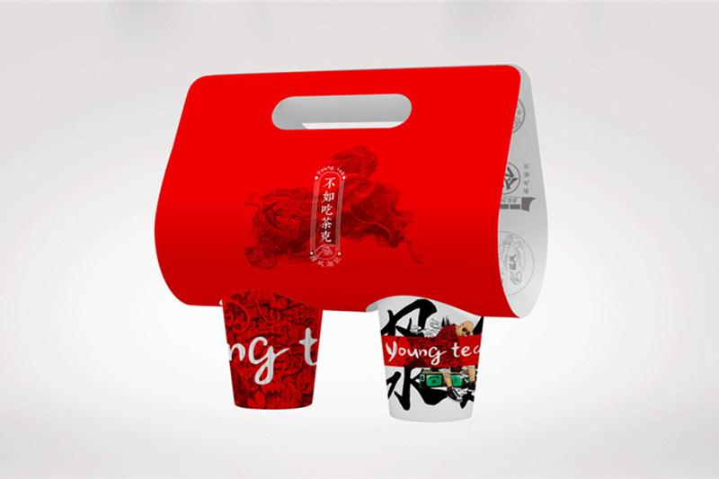 茶餐厅vi设计-不管中式或港式奶茶饮品牌策划-广