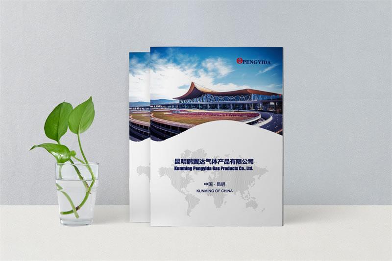 公司宣传画册设计制作-昆明工艺气体画册定制