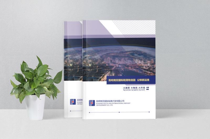 国际物流运输宣传画册制作-昆明物流画册设计定
